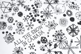 All The Snow In Canada Screenprint