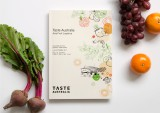 Taste Australia identity graphics