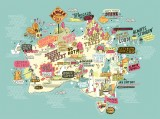 Officeworks Pop Culture Map