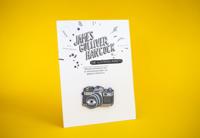 Gulliver Creative pencil and camera pins