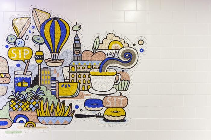 LinkedIn Kitchen Mosaic