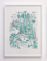 All the Buildings in Sydney Print