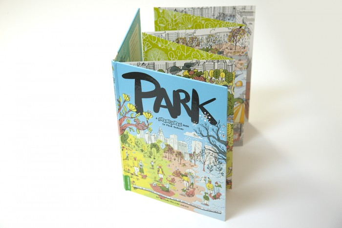 PARK fold-out book