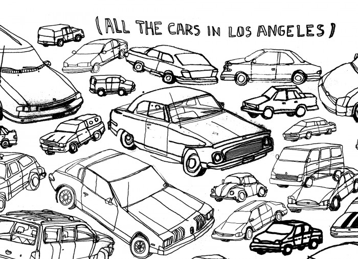 All The Cars In Los Angeles
