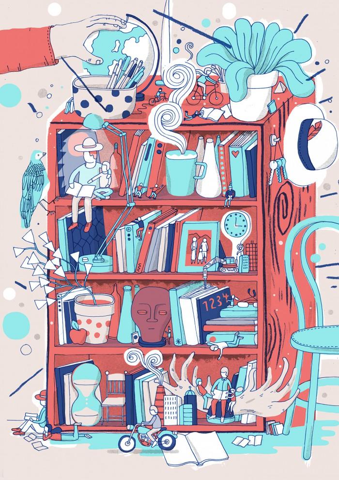 Family Journal Bookshelf