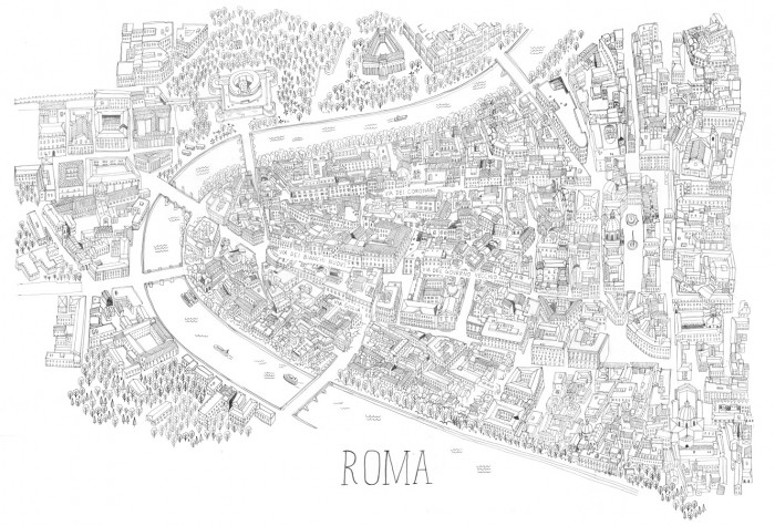 Rome Shopping Map